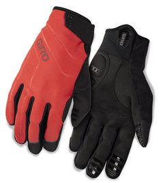 Giro 2015 Men's Ambient Winter Cycling Glove (Glowing Red - L)