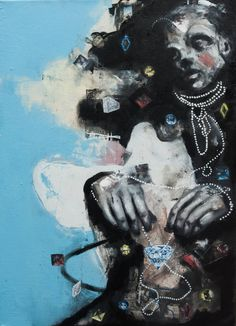 "Saatchi Art Artist James Null; Painting, ""Quantity of Life"" #art"