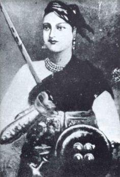 El 19 de noviembre de 1828 nacía en la India Lakshmi Bai. Contra todo pronóstico, se convirtió en reina, gobernó y se ganó el cariño y respeto de su pueblo y de los ingleses que lucharon contra ella. http://www.mujeresenlahistoria.com/2014/01/la-reina-guerrera-lakshmi-bai-1828-1858.html