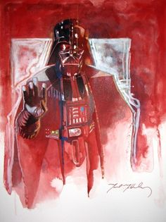 Star Wars - Darth Vader by Mark McHaley Star light Star Wars Love, Star Wars Girls, Star Wars Art, Vader Star Wars, Darth Vader, Star Wars Episode 2, Amidala Star Wars, Dark Lord, Anime