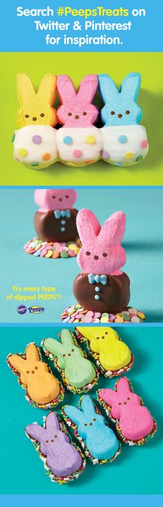 What delicious #PeepsTreats will you make this season? Express your Peepsonality with @Carmen Barsoom® (Official)!