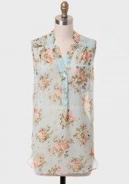 east hartford floral blouse