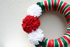 Christmas Wreath, Ugly Christmas Sweater, Ready to Ship