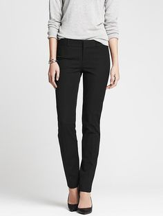 Stitch Fix - I need a black pant like this. I loved these. They fit and felt great on. Nice and thick with some stretch. Had to leave them behind when i realized they were dry clean only. Sloan-Fit Slim Ankle Pant