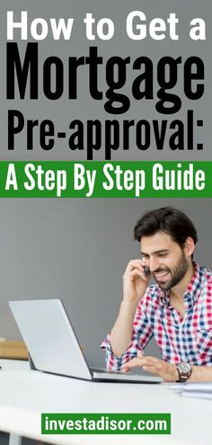 When you get a mortgage pre-approval it helps minimizing stress around the home buying process. It removes guesswork on how much mortgage you qualify for. Best Mortgage Lenders, Mortgage Tips, Refinance Mortgage, Mortgage Calculator, Mortgage Rates, Mad Money, Money Saving Tips, Money Tips, Saving For Retirement