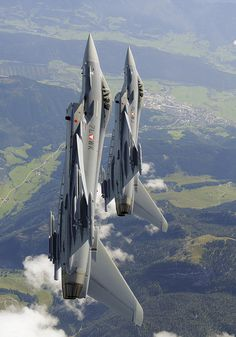 Austrian Airforce Eurofighter's  by Agamemnon1