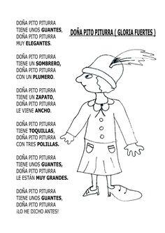 LA CLASE DE LUNA: DOÑA PITO PITURRA --- GLORIA FUERTES