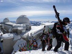 Le Derby du Pic du Midi Grand Tourmalet course de glisse en haute montagne