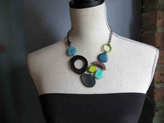 Shades of Blue and Green by veronicarileymartens on Etsy, $75.00