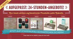 AlegnaArt: 21. November: 24-Stunden-Angebote, bis zu 40% Rabatte, basteln in Burgbrohl, Stampin´ Up!