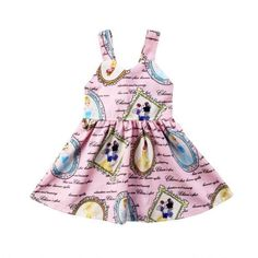 da0123a1531 USA Newborn Kid Baby Girl Snow White Backless Princess Party Dress Sundress  0-3Y
