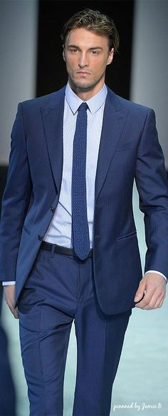 Giorgio Armani Men's RTW | Spring 2014
