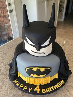 Batman cake for my grandson