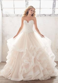 Mori Lee - Marcia - 8116 - All Dressed Up, Bridal Gown