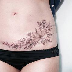 Diseños Para Tatuajes En El Vientre Bajo Para Mujeres Tatuajes