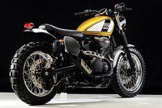 Yamaha Star Bolt Scrambler by Hagemen Motorcycles