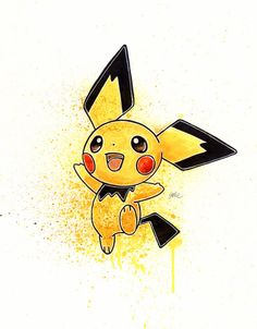 There's always one which means more than all the others combined for me guess that's pichu