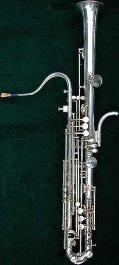 Early Musical Instruments, antique Tenor Sarrusophone by Evette & Schaeffer, Buffet Crampon