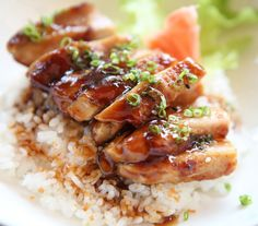 This is a very easy recipe for all you teriyaki chicken lovers! - Easy Chicken Teriyaki