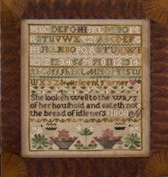Little House Needleworks - The Melicent Turner Sampler