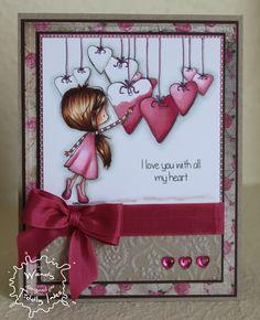 Valentine Cards | SugarPea Designs: All My Heart