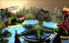 Peargex Hub Minecraft Project