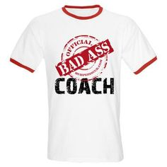 BAD ASS COACH - WHITE T-Shirt