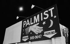 Michael Ormerod: Billboard with palmist's hand