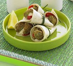 LEBANESE RECIPES: Falafel wraps with houmous & pickled chilli recipe