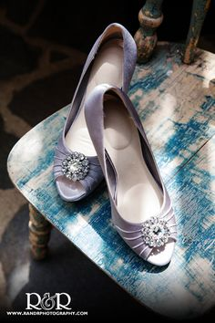 Wedding Shoes | Wedding Photography | Silver Shoes | Bride | R and R Creative Photography | #wedding #photography #silver #diamonds #bride #shoes #heels #RandRCreativePhotography