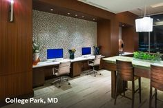 College Park apartment coworking space