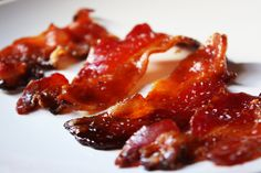 Now here's a treat for the adults! We declare Candied Salted Bacon to be the greatest thing since sliced bread. In fact, had candied salted Bacon been discovered before sliced bread. well you get the picture. Candied Bacon Recipe, Bacon Recipes, Appetizer Recipes, Appetizers, Best Bacon, Bacon Bacon, Bacon Food, Perfect Food, Breakfast Recipes