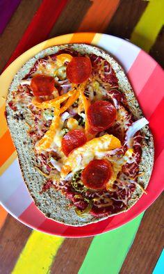 Flatout Fiber Pizza