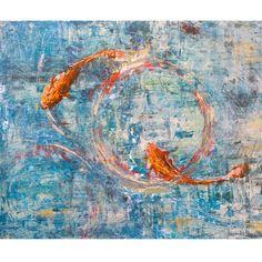 John Beard Collection // Koi Reflections I Giclee Print