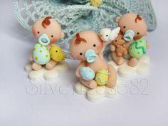 Bimbi1  Easter Babies  fondant / polymer clay