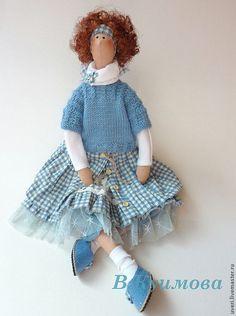 Купить Кукла тильда Галочка - кукла ручной работы, кукла Тильда, куклы и игрушки