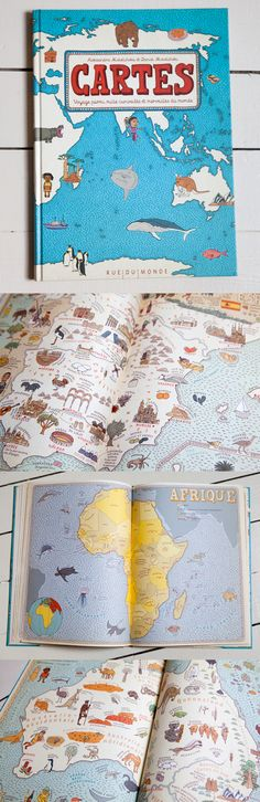 Cartes-Mizielinska Brand Board, Cartography, Illustrations, Childrens Books, Books To Read, Illustrated Maps, Lectures, Teaching, Html