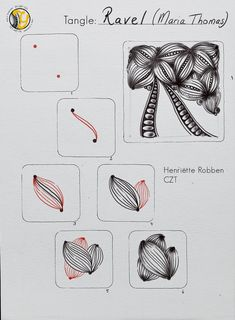Zentangle Patterns, Zentangles, Doodle Art Designs, Tangle Art, Tangled, Positive Quotes, Tiles, Doodles, Drawings