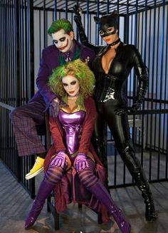 Jokers and Catwoman