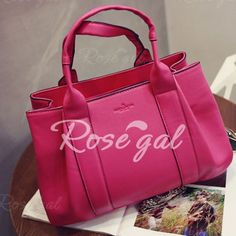 Graceful Embossing and Stitching Design Women's Tote Bag Pink Purses, Rose Online, Cheap Shoes, Womens Tote Bags, Gym Bag, Stitching, Shoe Bag, Shopping, Design