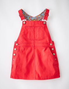Dungaree Dress 33327 Day Dresses and Pinnies at Boden