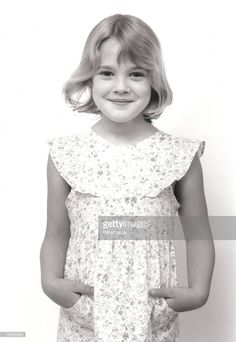 Drew Barrymore. File photo promoting the motion picture 'E.T.' in 1982.
