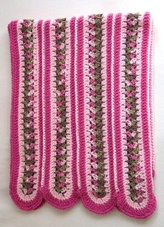 Free #Crochet Mile A Minute #Afghan - 3 round. Free pattern.