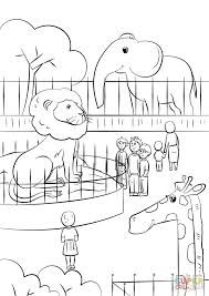 Resultado De Imagen Para Zoo Para Pintar Zoo Colores Actividades