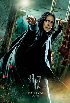 severus snape harry potter deathly hallows
