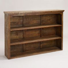 want want want!! One of my favorite discoveries at WorldMarket.com: Clayton Rustic Hutch