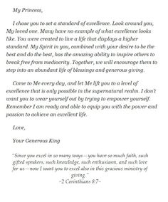 Love Letters of God to His Princess