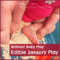 Brilliant Baby Play - great ideas for developmental play - no college degrees required.