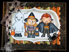 Trick or Treat - Your Next Stamp Fun Friday October Challenge