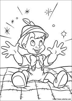 Coloriages Pinocchio